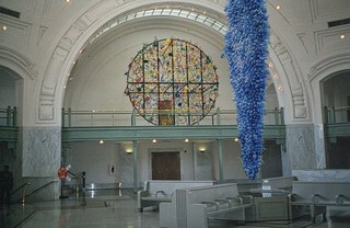 Tacoma Washington - Union Passenger Station - Display at the Time Chihuly  Arts