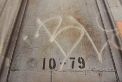 THE RAMBLER 1989 (TheGraffitiHunters) Tags: graffiti graff moniker streak markal street art freight train tracks benching benched hopper rambler 1989