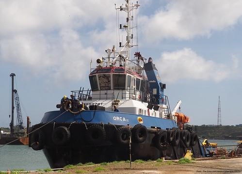 orca vi @ damen shiprepair curacao@piet sinke 07-2018 (8)