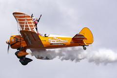 DSC_9737 copy (quintinsmith_ip) Tags: aerosuperbatics flyingcircus 'superstearmans stearmans plane formation flight smoke smoking orange white wingwalkers sunderland 2018