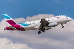 Eurowings OE-LYV (A) (U. Heinze) Tags: aircraft airlines airways airplane haj hannoverlangenhagenairporthaj eddv planespotting plane flugzeug nikon