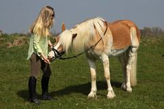Camille 29 (The Booted Cat) Tags: sexy teen model girl blonde long hair riding ridingboots boots horse equestrienne