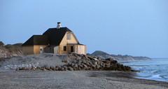 Old Skagen_01 (Barbro_Uppsala) Tags: denmark oldskagen beach sunset skagen jylland nordjylland höjen