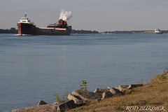 acompasslat72718s_rb (rburdick27) Tags: leeatregurtha algomacompass interlake algoma interlakesteamshipcompany algomacentral scenicmichigan stclairriver