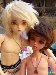 Skye&Nikita (koikokoro) Tags: minifee luka tan twins fairyland mirwen rheia littlefee piki modified soom rang boy legit proud