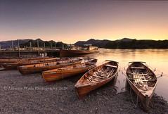 Lady Derwentwater (Amanda Wade Photography) Tags: ladyderwentwater derwentwater cumbria cumbrialakes keswick boatlandings sunset lakesidesunset friarscrag jetty woodenboats boating