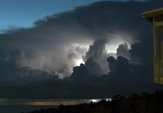 Thunderstorm, Gotland (arkland_swe) Tags: thunder thunderstorm åska blixt lightning weather cloud cloudporn evening night sunset snäck gotland sweden clouds