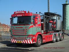 Scania G450 XT97051 mobile tar boiler (sms88aec) Tags: scania g450 xt97051 mobile tar boiler