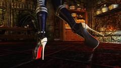 Nalonia Graymoon (XMymy007X) Tags: skyrim enb tesv lady sexy heels