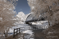 Black Forest - Biking - Nagold Radweg (gporada) Tags: nagoldriver infrared nikon d40 720nm unterreichenbach badliebenzell schwarzwald blackforest biking nagoldradweg lens180550mmf3556 germany travelling badenwürttemberg