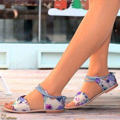 Mutresse@C88 August 2018 - Sofia Flat Sandals (Eeky Cioc) Tags: spring summer flat sandals full pack all colors scripted
