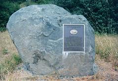 Captain Courageous (marmotfotos) Tags: boulder cow flood monument klamath california biketrip biketouring