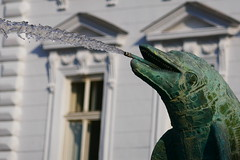 Dolphin Fountain (Jungle_Boy) Tags: olomouc czechia czechrepublic europe centraleurope 2018 travel