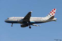 Airbus A319 -112 CROATIA AIRLINES 9A-CTG 767 Francfort mai 2018 (Thibaud.S.) Tags: airbus a319 112 croatia airlines 9actg 767 francfort mai 2018