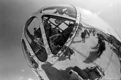 "B-29 Superfortress ""Doc"" (dpsager) Tags: 2018 airventure bw b29 boeingb29superfortress dpsagerphotography doc eaa eaaoshkoshairshow eos1v film kodak oshkosh portra400bw wisconsin aircraft airplane airshow osh18"