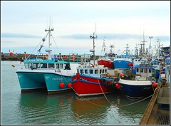 Shellfish Vessels in Harbour .. (** Janets Photos **) Tags: uk eastyorkshire bridlington harbours portsshellfish crabs lobsters