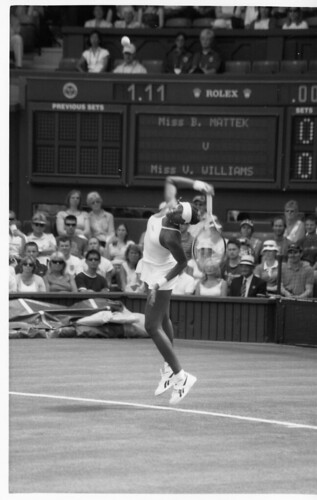 Venus Williams by Swiv, on Flickr, available under a Creative Commons license