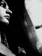 Io non ho Sentimenti solo Sensazioni (Goodintention) Tags: portrait bw selfportrait me noiretblanc bn finestra ritratti biancoenero vetro riflesso sensazioni blancetnoir morbido sentimenti sperimentazioni