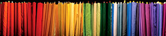 roy g. biv (twoeightnine) Tags: blue red orange green yellow topv111 composite museum store purple quilt pennsylvania violet 2006 amish pa fabric quilting lancaster intercourse fabrics pennsylvaniadutch amishcountry dutchcountry lancastercountry