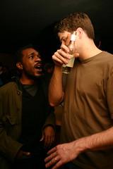 Daniel and John @APT, NYC (fotoflow / Oscar Arriola) Tags: new york city nyc records apt bar club night john bars dj daniel jr clubs eliot hughes lipp givens johnhughes heftyrecords danielgivens