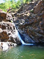 Cliff Jump (worldwidewandering) Tags: trip travel 2002 vacation cliff digital canon turkey wa