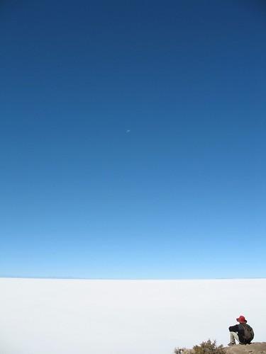 White, Blue, Moon