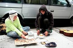 Homeless kids on Haight