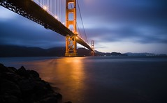 Golden Gate Bridge at Dusk, Dedicated to My Good Friend Robert Scoble