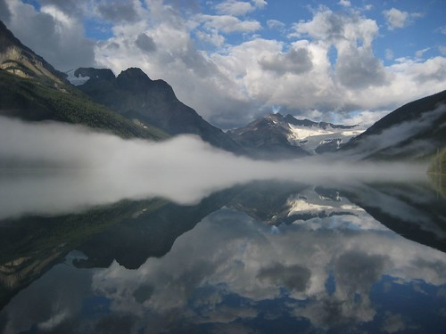 Glacier Lake Mirrored
