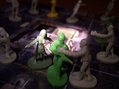 Zombies & Character Spotlight (Trachalio) Tags: macro boardgame zombies eyeloupe