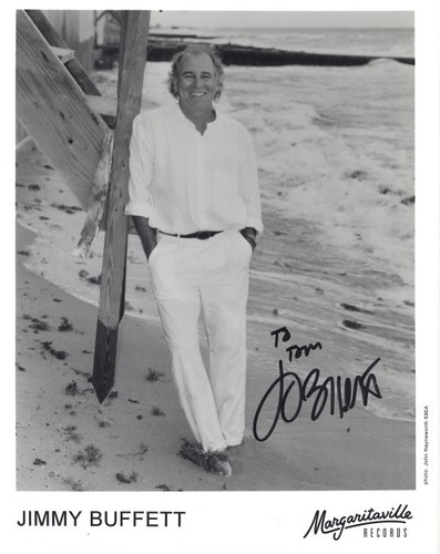 Jimmy Buffett Autographed Photo