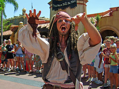 Cap'n Jack Sparrow (Lidwit) Tags: geotagged orlando florida pirates magic carribean kingdom disney fav wdw walt brilliant top20disney