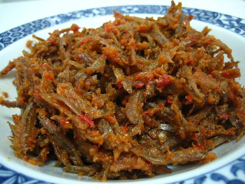 Sambal Ikan Bilis / Spicy Anchovies + Recipe