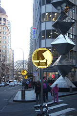 Apparently, Only Moonwalking is Allowed on Pitt Street in Sydney (The Rocketeer) Tags: sign logo bs sydney australia michaeljackson moonwalking pittstreet digitallyaltered mjjmusic