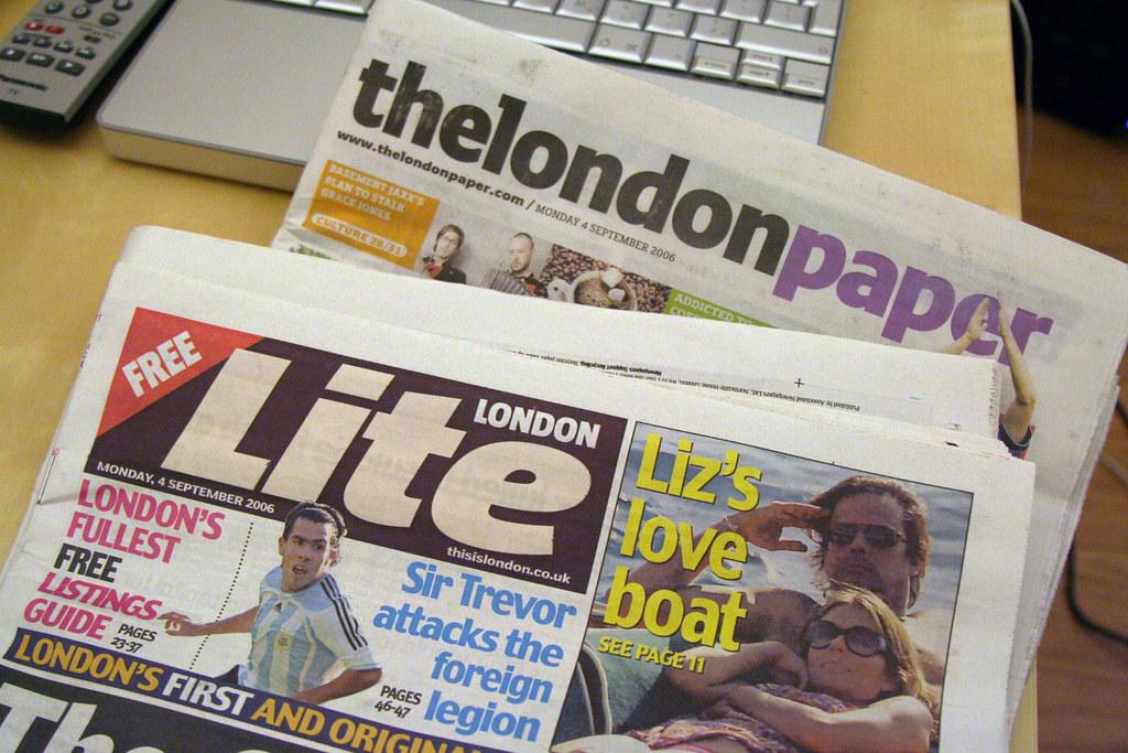 The London Paper War Begins