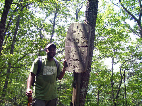 09052006 Cheaha State Park - Andre taking a break