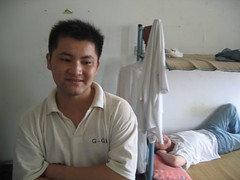 Shao Meizhong in his dorm room, Donghua power-leveling shop, Jinhua (Julian) Tags: china wow internet games worldofwarcraft jinhua
