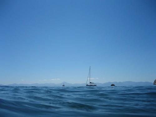 Skopelos - Sea Horizon from Stafilos beach