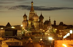 St Basil by Night - by Jerrold