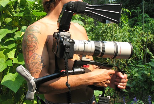 Nature Photographer's Weapon of Choice