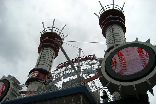 Cincinnati: Great American Ball Park - Pepsi Power Stacks