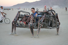 walking spider car