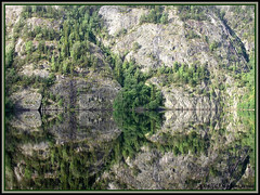 NORWAY: JUST ANOTHER REFLECTION (**Mirm**) Tags: reflection norway 2006 reflectie specland specnature 1on1naturephotooftheday worldwalkers vradaloslo