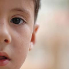 about a boy (jam-L) Tags: street portrait eye face algeria eyes dof crop squareformat childrens enfants algerie rue hummingbirdxmas regard algiers alger thecasbah الجزائر blackribbonicon