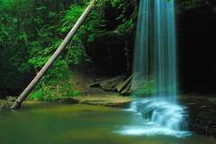South Caney Creek Falls (BamaWester) Tags: longexposure water ilovenature waterfall bravo rocks alabama waterblur bamawester lovephotography napg bankheadnationalforest abigfave southcaneycreekfalls