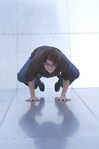 yoga on steel