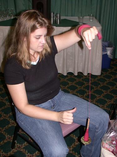 Beth, spinning