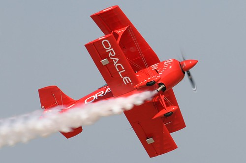 Sean D. Tucker and the Oracle Challenger Plane