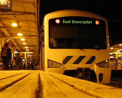 Train to East Doncaster
