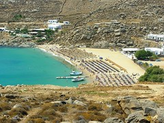 Mykonos - Super Paradise beach (*DaniGanz*) Tags: sea beach island sand europe mare greece grecia umbrellas ombrelloni cyclades mykonos mediterraneansea mikonos sabbia isola cicladi spiaggi superparadise marmediterraneo kyklades superparadisebeach daniganz top20greece